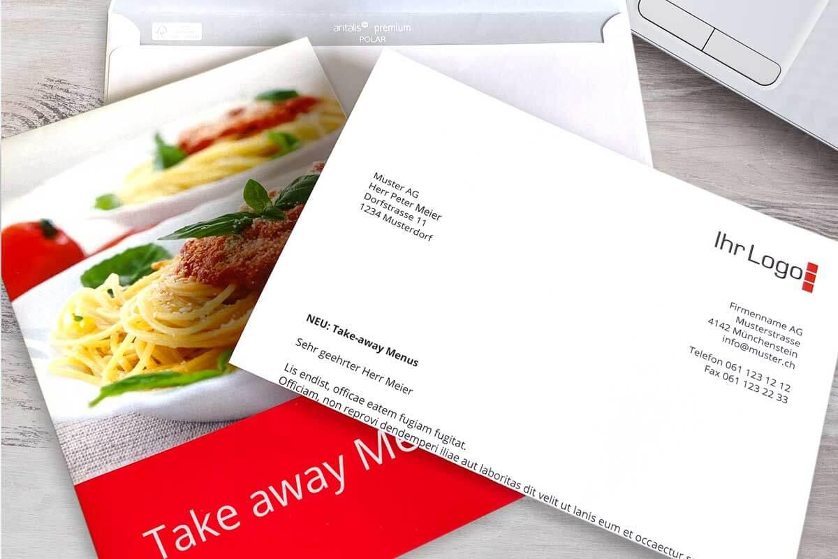 mailing personalisiert drucken